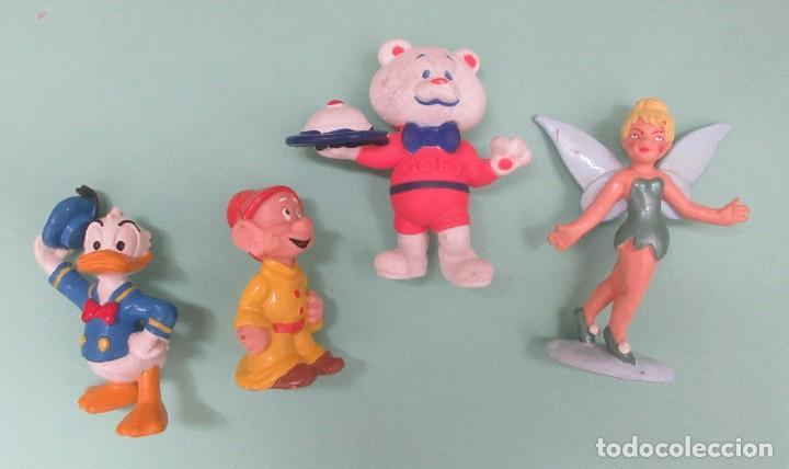 CUATRO MUÑECOS DE PVC (Juguetes - Figuras de Goma y Pvc - Otras)