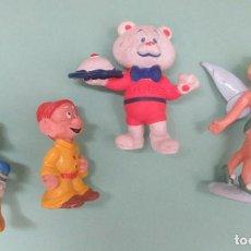 Figuras de Goma y PVC: CUATRO MUÑECOS DE PVC. Lote 235942725