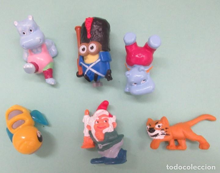 SEIS MUÑECOS DE PVC (Juguetes - Figuras de Goma y Pvc - Otras)