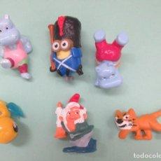 Figuras de Goma y PVC: SEIS MUÑECOS DE PVC. Lote 235943115