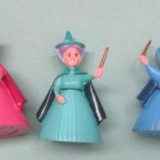 Figuras de Goma y PVC: TRES HADAS DE PVC. Lote 235943505