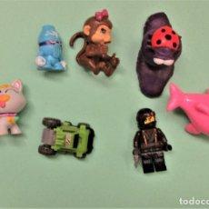 Figuras de Goma y PVC: VARIOS MUÑECOS D PVC. Lote 235943820