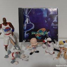 Figuras de Goma y PVC: SPACE JAM MICHAEL JORDAN & FRIENDS + CD BSO. Lote 236028590