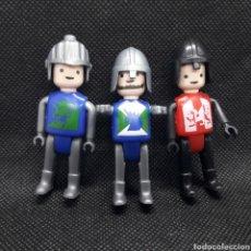 Figurines en Caoutchouc et PVC: SOLDADOS MEDIEVALES. Lote 236035230