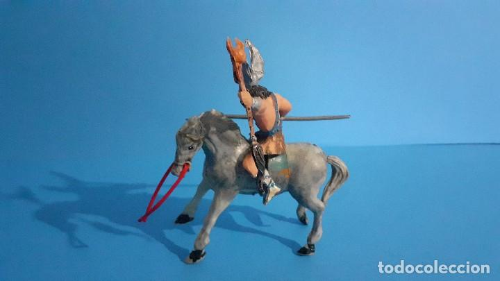 Figuras de Goma y PVC: Lote de 4 figuras Vikingos. Estereoplast. Gundar , Olaff , goodfrei y Ragnad completos - Foto 38 - 236053015