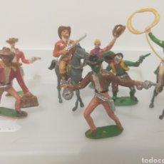 Figuras de Goma y PVC: COMANSI LOTE VAQUEROS. Lote 236059145