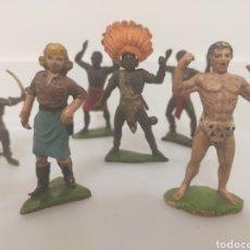 Figuras de Goma y PVC: JECSAN SAFARI LOTE GOMA. Lote 236061660