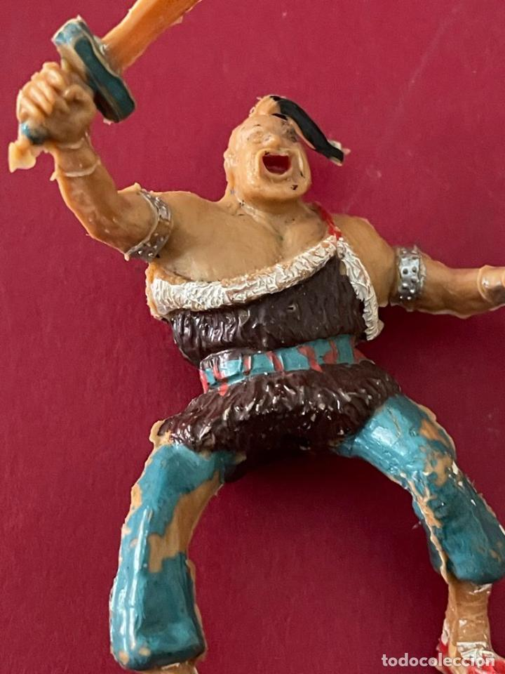 Figuras de Goma y PVC: FIGURA DE PLASTICO - COSACO VERDE (KARAKAN) ESTEREOPLAST - Foto 2 - 236140145