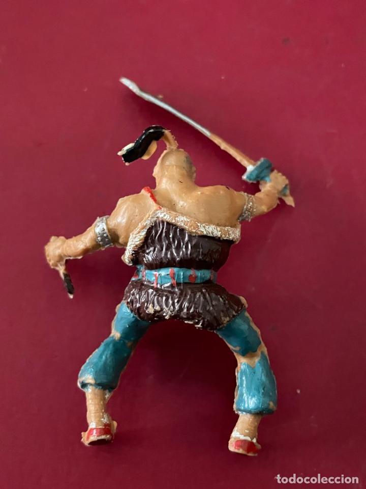 Figuras de Goma y PVC: FIGURA DE PLASTICO - COSACO VERDE (KARAKAN) ESTEREOPLAST - Foto 3 - 236140145