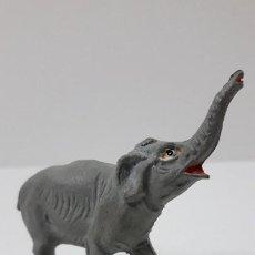 Figuras de Goma y PVC: CRIA DE ELEFANTE - SERIE CIRCO . REALIZADO POR JECSAN . ORIGINAL AÑOS 50 EN GOMA. Lote 236155665