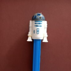 Dispensador Pez: DISPENSADOR DE CARAMELOS PEZ DE R2D2 STAR WARS. Lote 236176420