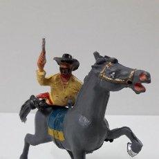 Figuras de Goma y PVC: ULISES A CABALLO . REALIZADO POR ESTEREOPLAST . ORIGINAL AÑOS 60. Lote 236184555