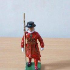 Figuras de Goma y PVC: FIGURA METALICA DE 7 CMTRS BRITAINS 1990.NUEVA. Lote 236200090