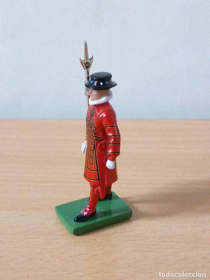 Figuras de Goma y PVC: FIGURA METALICA DE 7 CMTRS BRITAINS 1990.NUEVA - Foto 4 - 236200090
