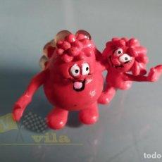 Figuras de Goma y PVC: ERASE UNA VEZ LA VIDA - FIGURA DE LOS GLÓBULOS ROJOS. Lote 236367415