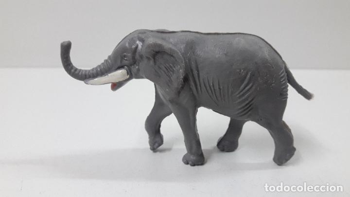 Figuras de Goma y PVC: ELEFANTE . REALIZADO POR ALCA - CAPELL . ORIGINAL AÑOS 60 - Foto 2 - 236699100