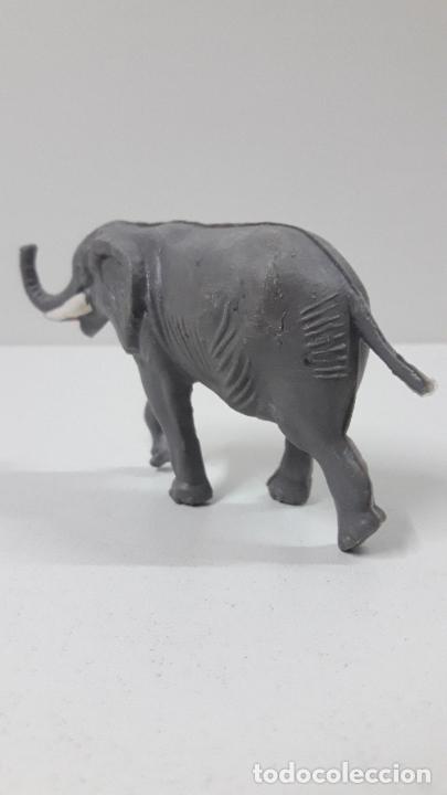 Figuras de Goma y PVC: ELEFANTE . REALIZADO POR ALCA - CAPELL . ORIGINAL AÑOS 60 - Foto 6 - 236699100