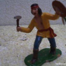 Figuras de Goma y PVC: INDIO APACHE DE REAMSA. Lote 236746480
