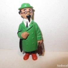 Figuras de Goma y PVC: COMICS SPAIN PROFESOR TORNASOL DE TINTIN MUY BUEN ESTADO,BARATO. Lote 236758530