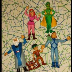 Figuras de Goma y PVC: FIGURAS PVC COMIC SPAIN CORONA MAGICA. Lote 236762335