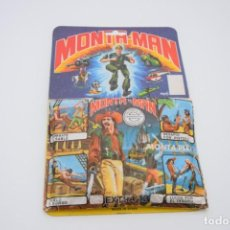 Figuras de Goma y PVC: MONTA-MAN - MONTAPLEX - MONTAMAN - CARTÓN PUBLICIDAD MÁS SOBRE Nº 12 - COLECCIONISMO - VER FOTOS. Lote 236892550