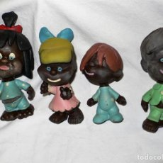 Figuras de Goma y PVC: LOTE ANTIGUOS MUÑECOS DE GOMA. Lote 236894665