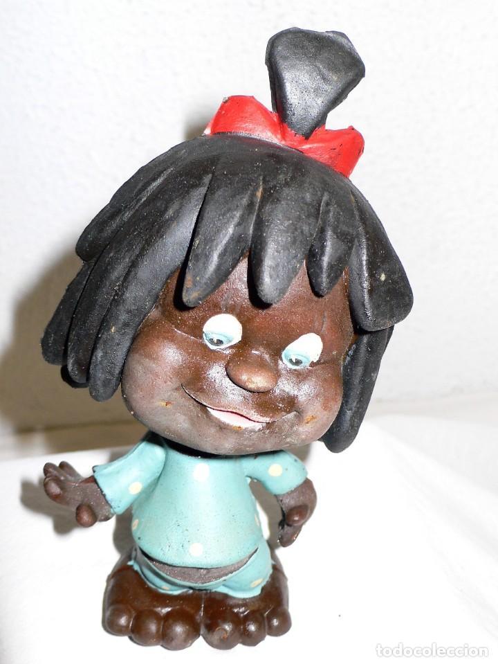 Figuras de Goma y PVC: LOTE ANTIGUOS MUÑECOS DE GOMA - Foto 2 - 236894665