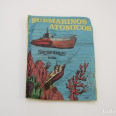 Figuras de Goma y PVC: SOBRE SERJANBOYS - SERJAN - MONTAPLEX - SUBMARINOS ATOMICOS. Lote 236903265
