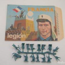 Figuras de Borracha e PVC: MONTAPLEX FRANCIA LEGIÓN 109 - SOBRE Y COLADA. Lote 236903590