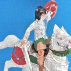 Figuras de Goma y PVC: ANTIGUA FIGURA EN PLÁSTICO DE REAMSA. SERIE CABALLEROS DEL REY ARTURO Y RICARDO CORAZÓN DE LEÓN.. Lote 236920490