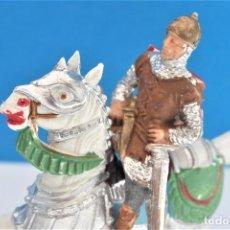 Figuras de Goma y PVC: ANTIGUA FIGURA EN PLÁSTICO DE REAMSA. SERIE CABALLEROS DEL REY ARTURO Y RICARDO CORAZÓN DE LEÓN.. Lote 236921005