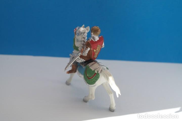 Figuras de Goma y PVC: Antigua Figura en Plástico de Reamsa. Serie Caballeros del Rey Arturo y Ricardo Corazón de León. - Foto 3 - 236921005