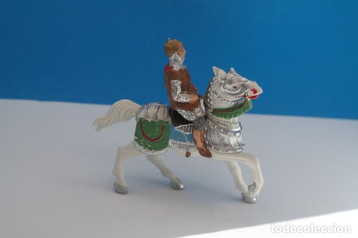 Figuras de Goma y PVC: Antigua Figura en Plástico de Reamsa. Serie Caballeros del Rey Arturo y Ricardo Corazón de León. - Foto 4 - 236921005