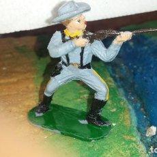Figuras de Goma y PVC: SOLDADO CONFEDERADO DE REAMSA. Lote 236929940