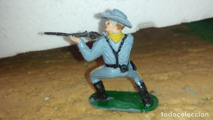 Figuras de Goma y PVC: Soldado confederado de reamsa - Foto 2 - 236929940