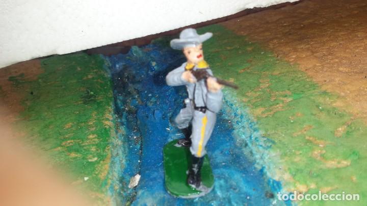 Figuras de Goma y PVC: Soldado confederado de reamsa - Foto 3 - 236929940