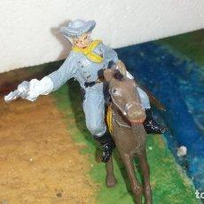 Figuras de Goma y PVC: SOLDADO CONFEDERADO A CABALLO DE COMANSI. Lote 236930655