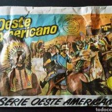 Figuras de Borracha e PVC: SOBRE CERRADO MONTAPLEX 121 OESTE AMERICANO. Lote 236952115