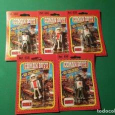 Figuras de Goma y PVC: LOTE 5 ASTRONAUTAS COMAN BOYS DE COMANSI. Lote 236956155