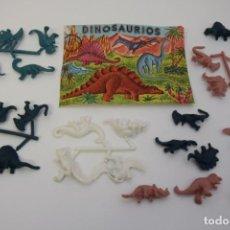 Figuras de Borracha e PVC: MONTAPLEX DINOSAURIOS. Lote 236960050