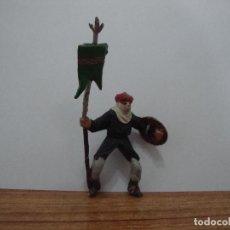 Figuras de Goma y PVC: FIGURA GOMA SOLDADO MORO CABALLERIA. Lote 237157625
