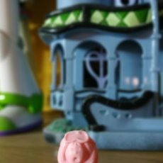Figuras de Goma y PVC: FIGURA DUNKIN MIM MUY DIFICIL LOS SABIOS DE PANRICO MIM HACIENDO BUZO. Lote 237315980