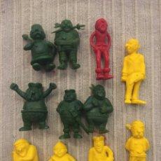 Figuras de Goma y PVC: LOTE FIGURAS DUNKIN PIRATAS TITO. Lote 237325840