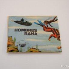 Figuras de Goma y PVC: MONTAPLEX - HOMBRES RANA - 1011/C - SOBRE CERRADO - AÑOS 70. Lote 237342075