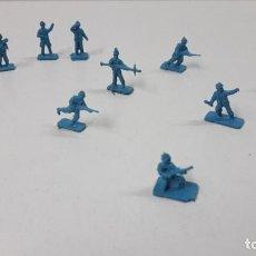 Figuras de Goma y PVC: LOTE DE SOLDADITOS MONTAPLEX - ALEMANES . AÑOS 70 / 80. Lote 237457870
