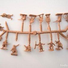 Figuras de Goma y PVC: MONTAPLEX COLADA COMANDOS FRANCESES COLOR FOTO - FRANCIA SOLDADOS. Lote 237629680
