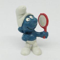 Figuras de Goma y PVC: PITUFO PRESUMIDO - SCHLEICH AÑO 1972. Lote 237702925