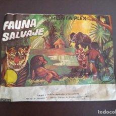 Figuras de Goma y PVC: SOBRE MONTAPLEX SIN ABRIR: FAUNA SALVAJE. Lote 237788590