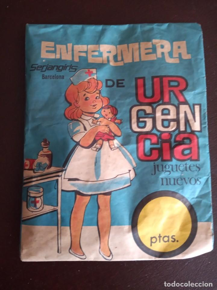 SOBRE MONTAPLEX SIN ABRIR: ENFERMERA DE URGENCIA (Juguetes - Figuras de Goma y Pvc - Montaplex)