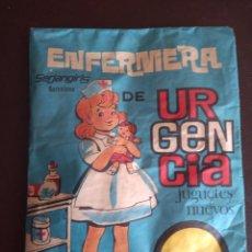 Figuras de Goma y PVC: SOBRE MONTAPLEX SIN ABRIR: ENFERMERA DE URGENCIA. Lote 237788620